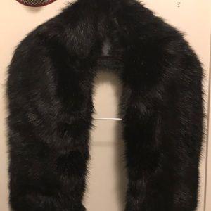 Fox fur shawl